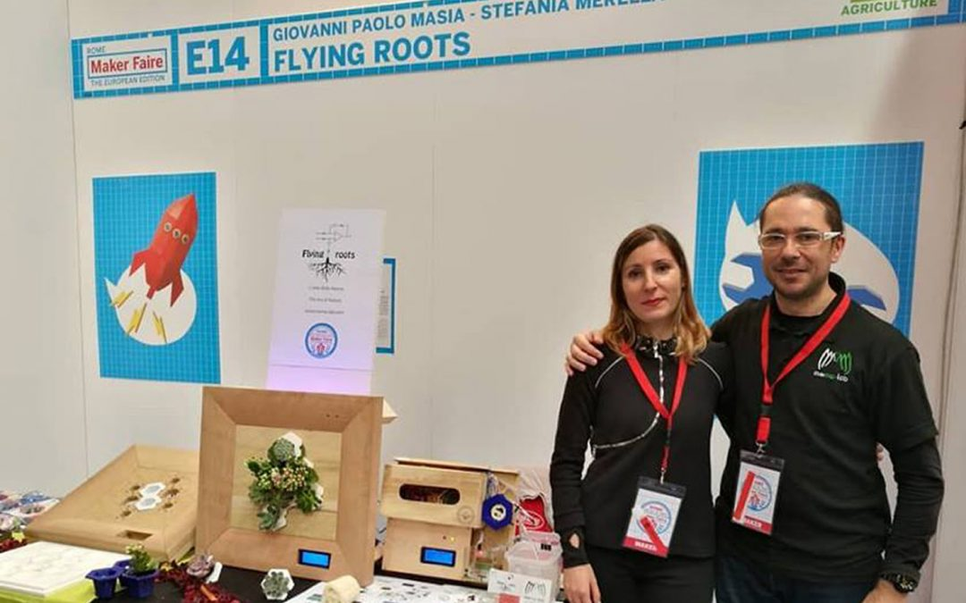 FLYING ROOTS: The project of Stefania and Giovanni