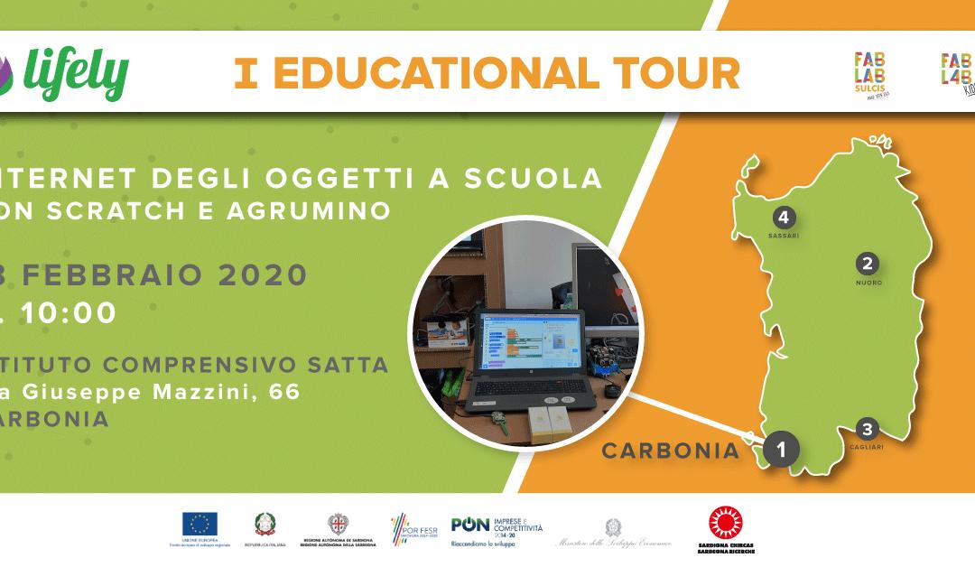 I EDUCATIONAL TOUR A CARBONIA
